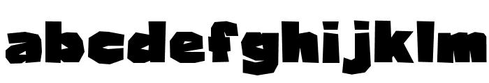 Osmanthus Font LOWERCASE
