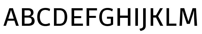 Ossem Regular Font UPPERCASE