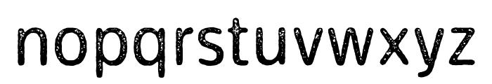 Ossem Rust Font LOWERCASE