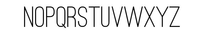 Ostrich Sans Medium Font UPPERCASE