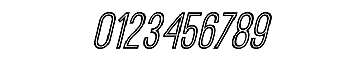 OstrichSansInline-Italic Font OTHER CHARS