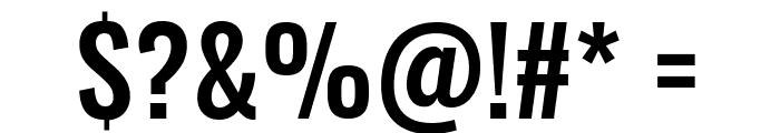 Oswald Medium Font OTHER CHARS