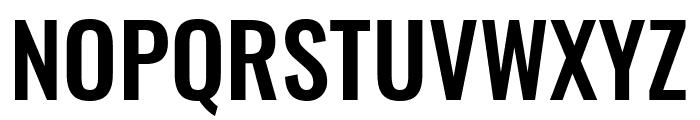 Oswald Medium Font UPPERCASE