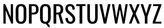 Oswald Regular Font UPPERCASE