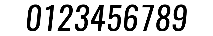 Oswald RegularItalic Font OTHER CHARS