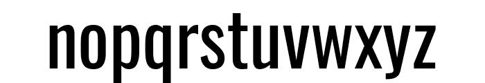 Oswald Regular Font LOWERCASE