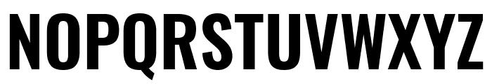 Oswald SemiBold Font UPPERCASE