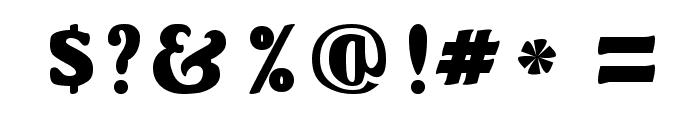 OswaldGrey Regular Font OTHER CHARS
