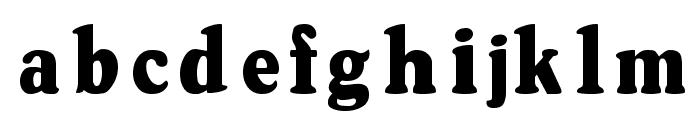 OswaldGrey Regular Font LOWERCASE