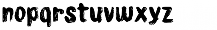 Osculate Font LOWERCASE