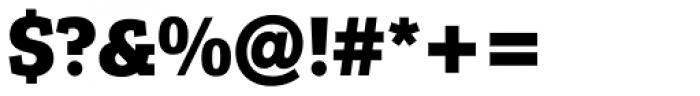 Osiris BQ Bold Font OTHER CHARS