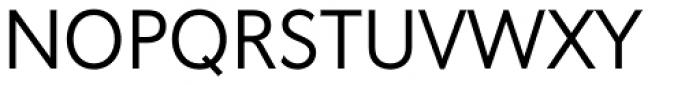 Oslo Regular Font UPPERCASE