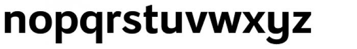 Osnova Alt Cyrillic Bold Font LOWERCASE