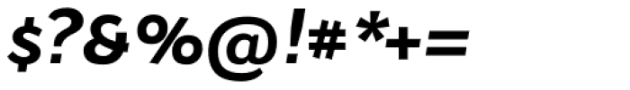 Osnova Alt Std Bold Italic Font OTHER CHARS