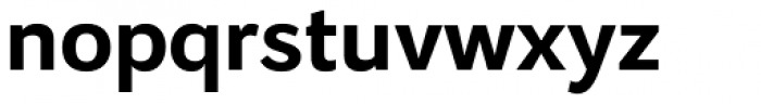 Osnova Cyrillic Bold Font LOWERCASE