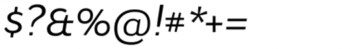 Osnova Navigation Cyrillic Italic Font OTHER CHARS