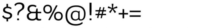 Osnova Navigation Cyrillic Font OTHER CHARS