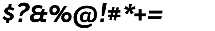 Osnova Navigation Greek Bold Italic Font OTHER CHARS