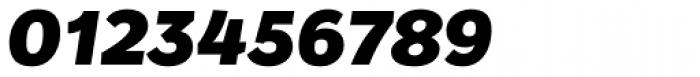 Osnova Pro Heavy Italic Font OTHER CHARS