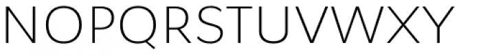 Osnova Pro Light Font UPPERCASE