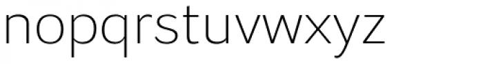 Osnova Pro Light Font LOWERCASE