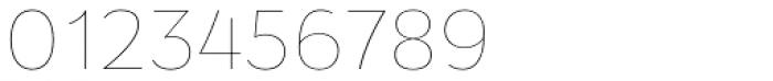 Osnova Pro Thin Font OTHER CHARS