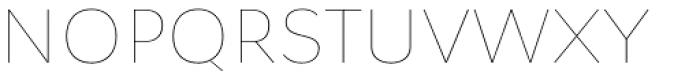 Osnova Pro Thin Font UPPERCASE
