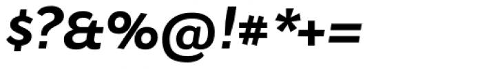 Osnova Small Caps Cyrillic Bold Italic Font OTHER CHARS