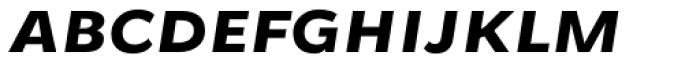 Osnova Small Caps Greek Bold Italic Font LOWERCASE