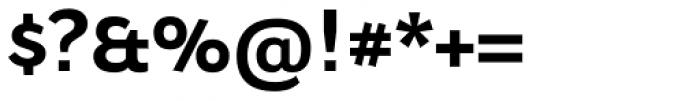Osnova Small Caps Greek Bold Font OTHER CHARS