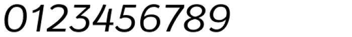 Osnova Small Caps Greek Italic Font OTHER CHARS