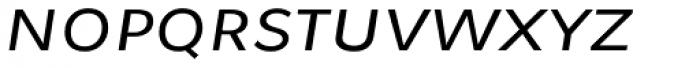 Osnova Small Caps Greek Italic Font LOWERCASE