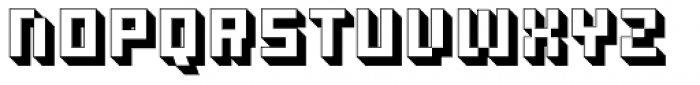 Ostblock Simple Font UPPERCASE