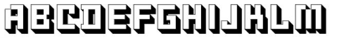 Ostblock Simple Font LOWERCASE