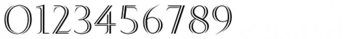 Ostium Regular Font OTHER CHARS