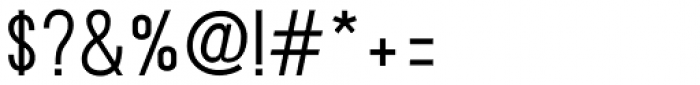 Ostrich Proper Semi Bold Font OTHER CHARS