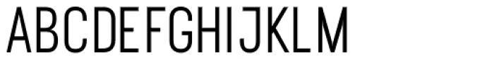 Ostrich Proper Semi Bold Font UPPERCASE
