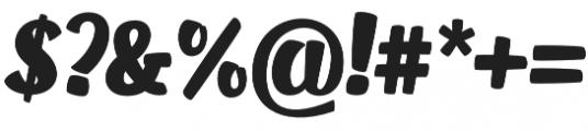 OT Puppy otf (400) Font OTHER CHARS