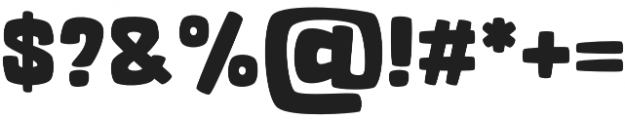 OT Whiner Bold otf (700) Font OTHER CHARS