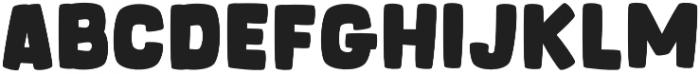 OT Whiner Bold otf (700) Font UPPERCASE