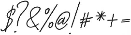 Otella Alt otf (400) Font OTHER CHARS