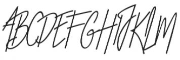 Otella Alt otf (400) Font UPPERCASE