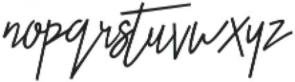 Otella Alt otf (400) Font LOWERCASE