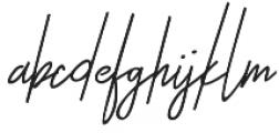 Otella otf (400) Font LOWERCASE