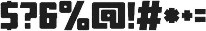Othon_Rough otf (400) Font OTHER CHARS