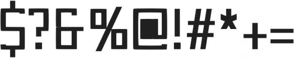 Otri otf (400) Font OTHER CHARS
