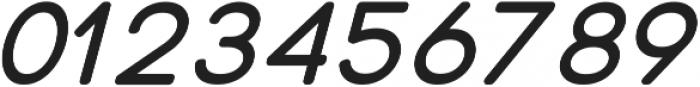 Otto Regular Italic ttf (400) Font OTHER CHARS