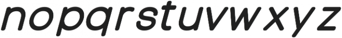 Otto Regular Italic ttf (400) Font LOWERCASE