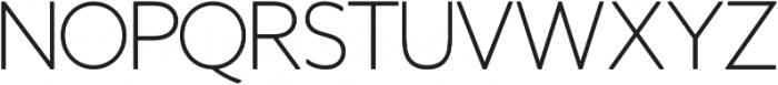 Otto Thin ttf (100) Font UPPERCASE
