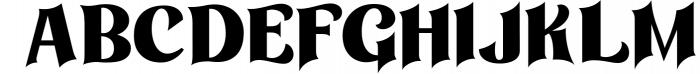 Othelie Font 1 Font UPPERCASE